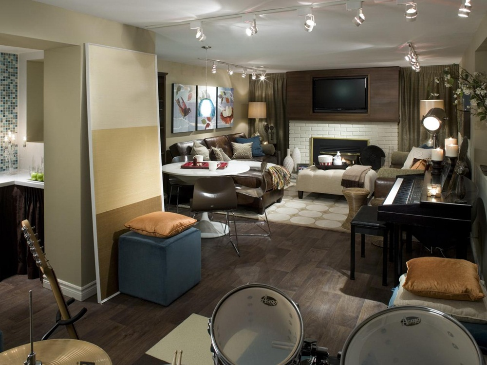 Picture of: Best Basement Lighting Options