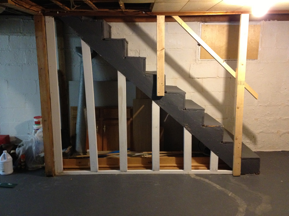 Image of: Best Basement Stairs