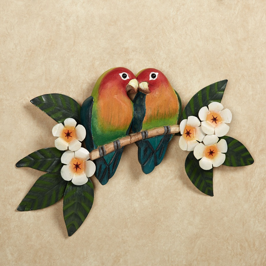 Bird Tropical Outdoor Wall Decor