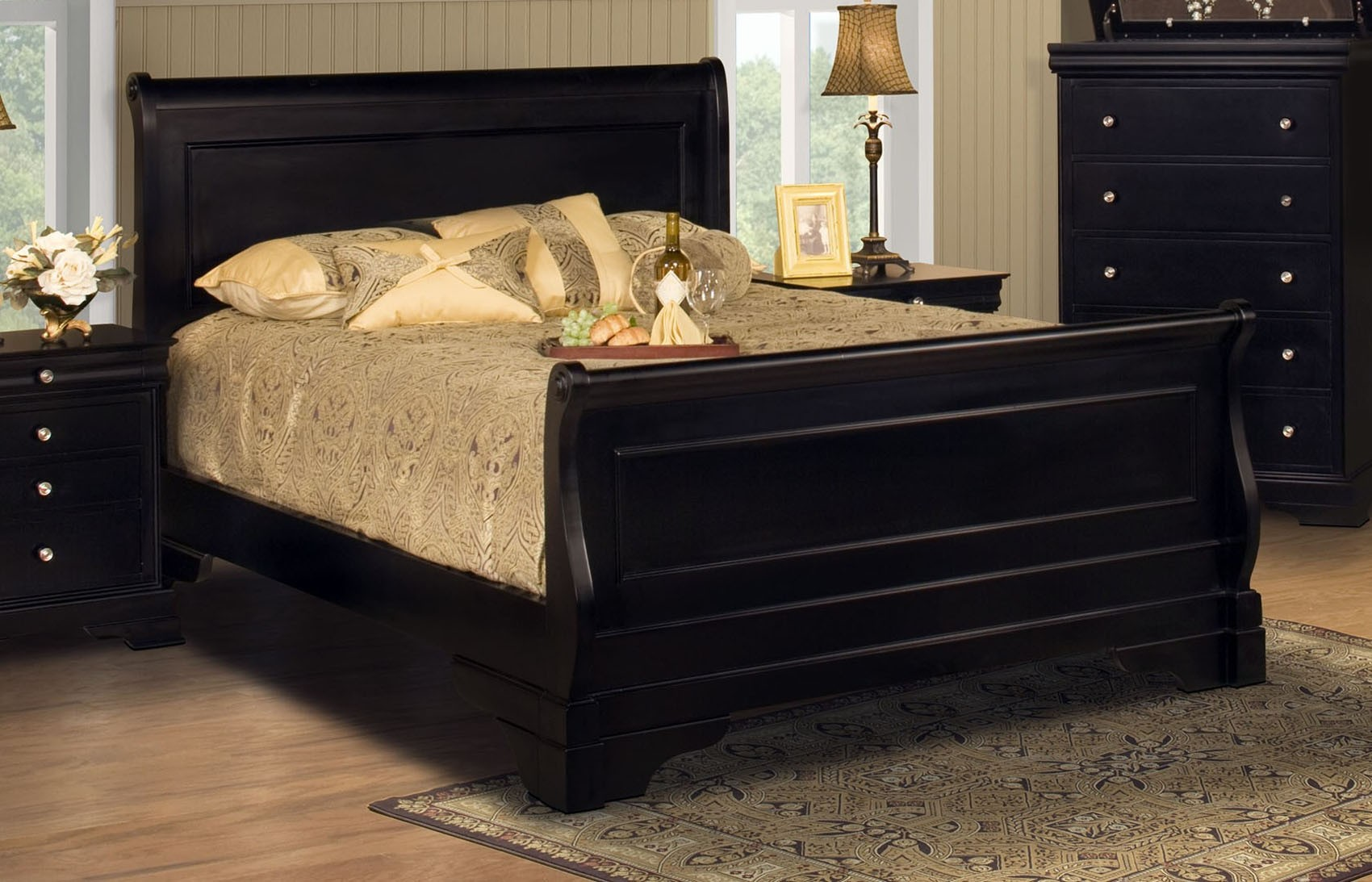 Black California Queen Mattress