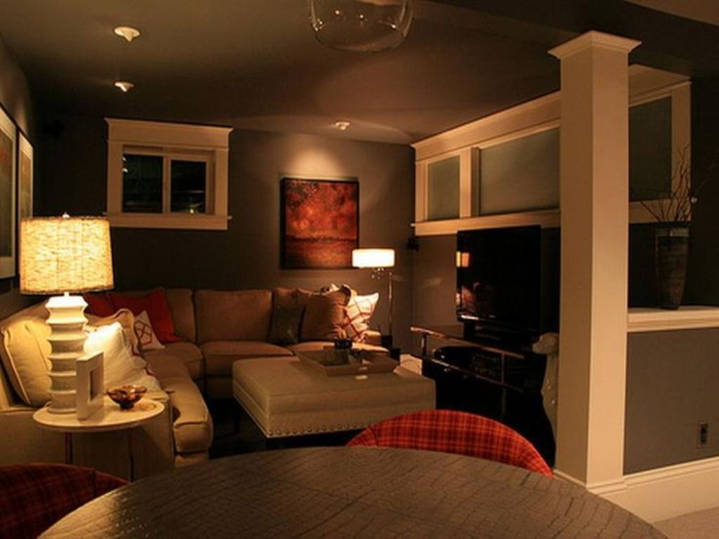 Image of: Building a Small BasementDesign Ideas