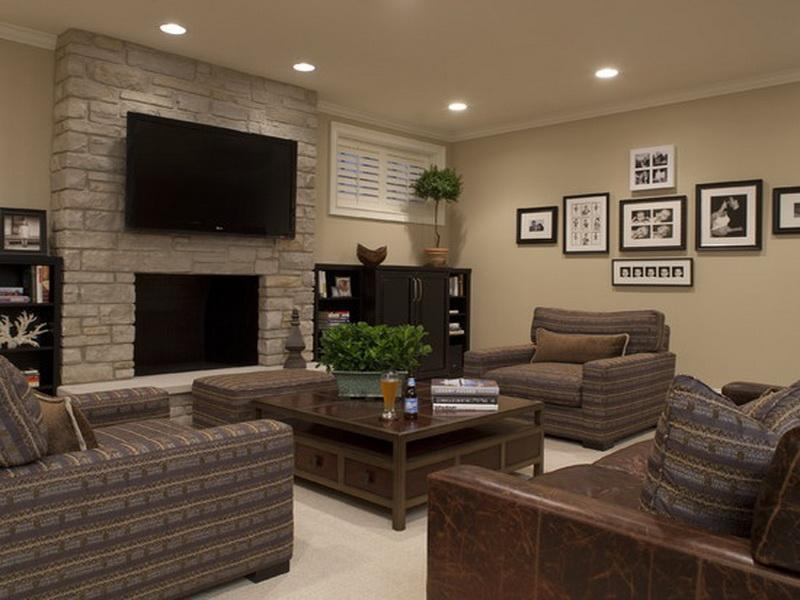 Image of: Ceiling Basement Remodeling Pictures