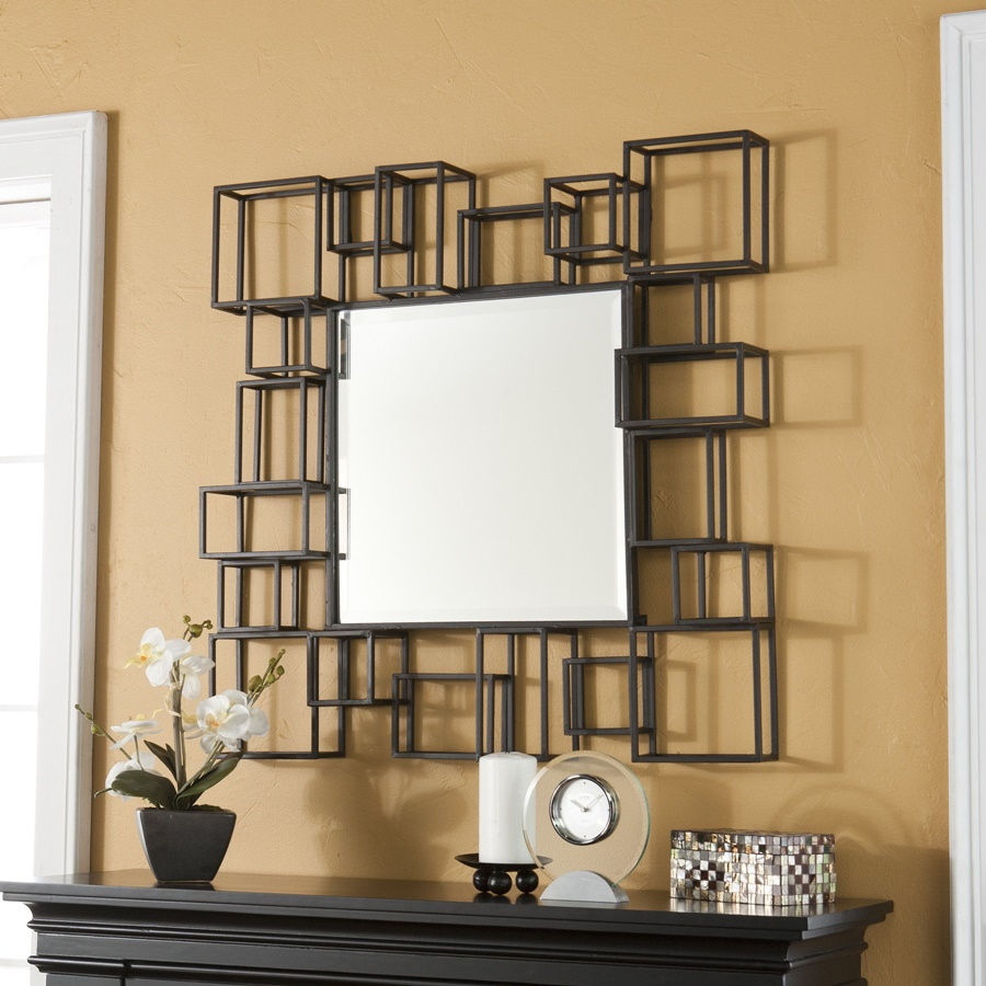 Image of: Contemporary Decorative Wall Mirrors