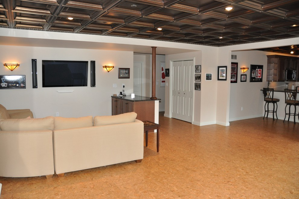 Contemporary Ideas For Drop Ceilings In Basements