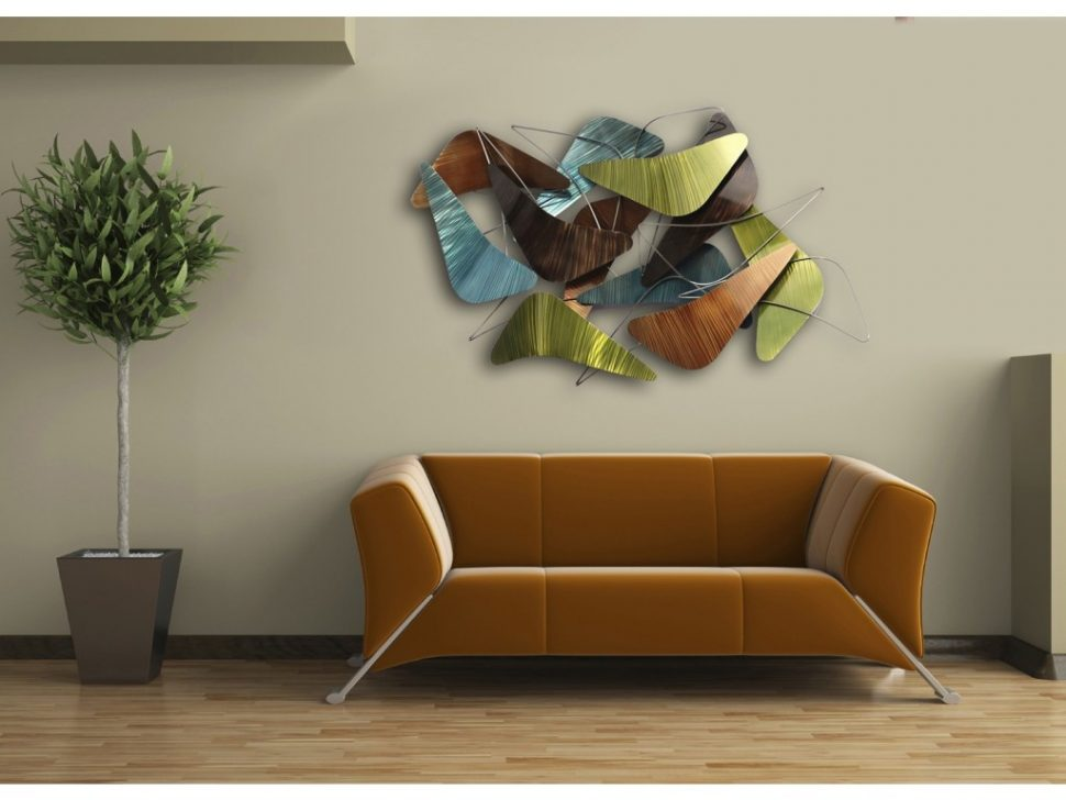 Contemporary Wall Art Decor Glass