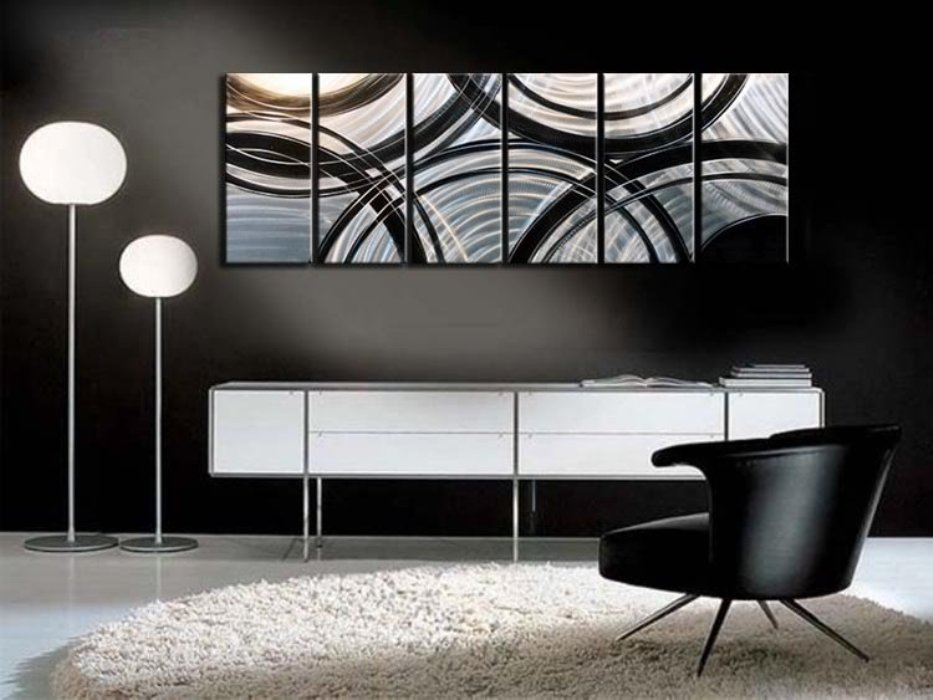 Picture of: Contemporary Wall Art Decor Large
