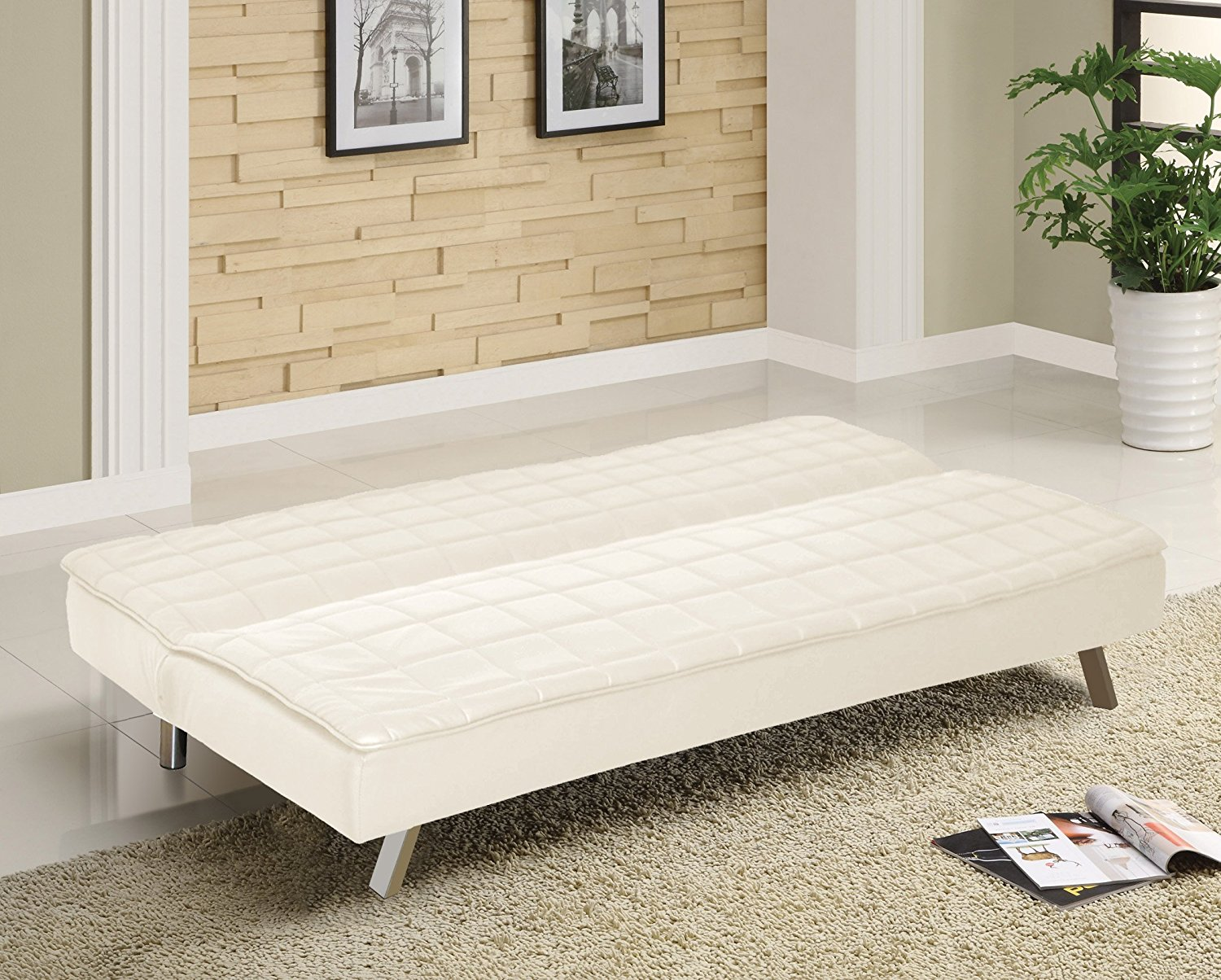 Image of: Cool Memory Foam Futon Mattress