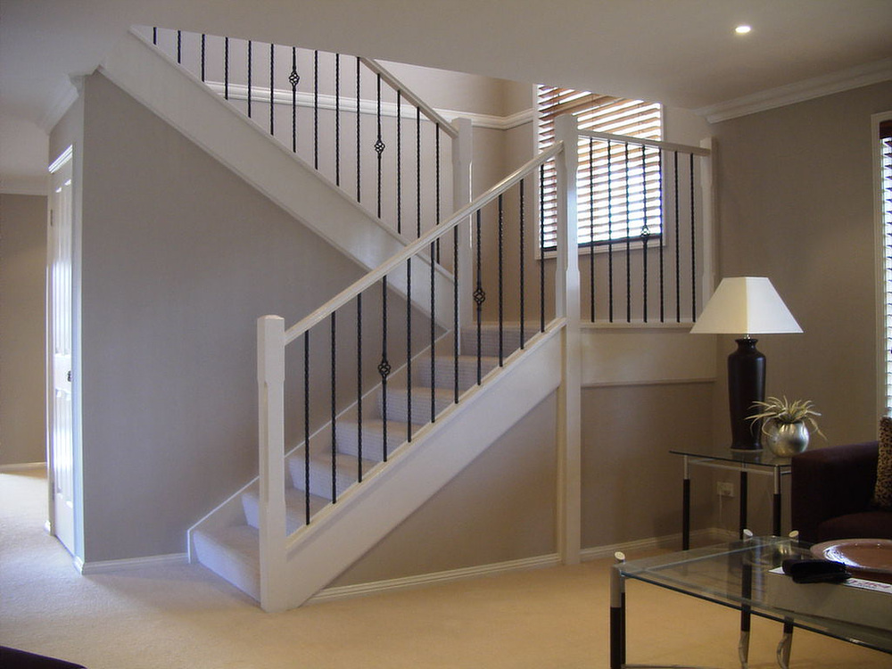 Image of: Cute Basement Stairs
