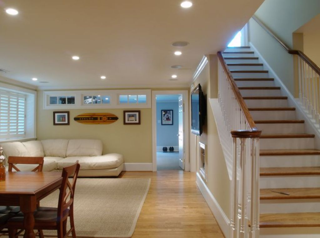 Image of: Decorating a Small BasementDesign Ideas