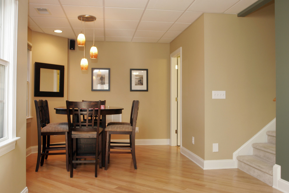 Image of: Dining Basement Drop Ceiling Ideas