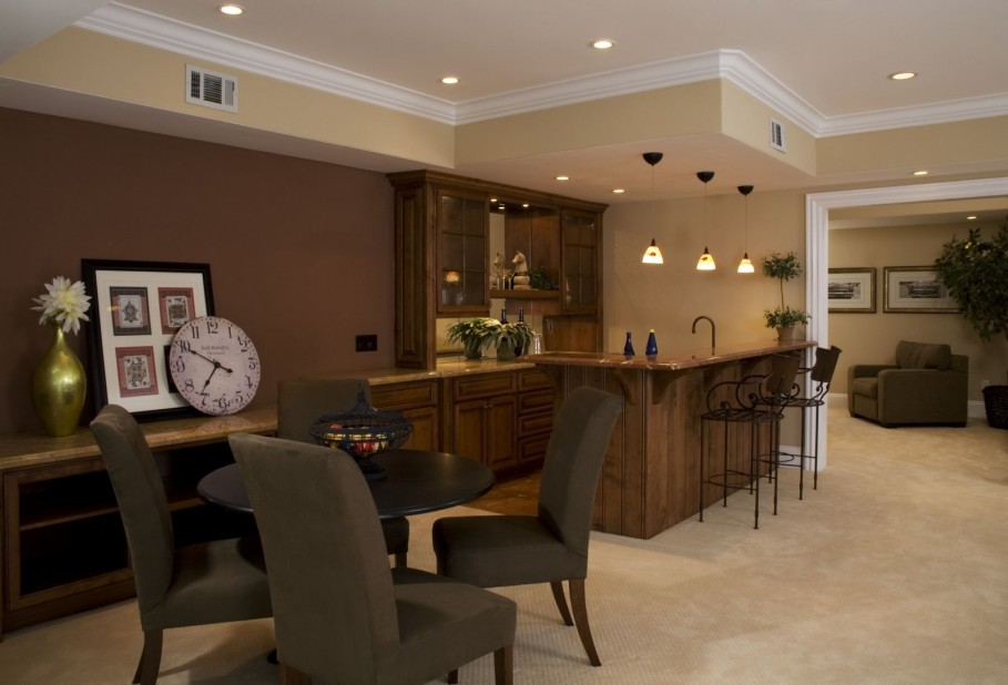 Image of: Dining Basement Wall Paint Sealer