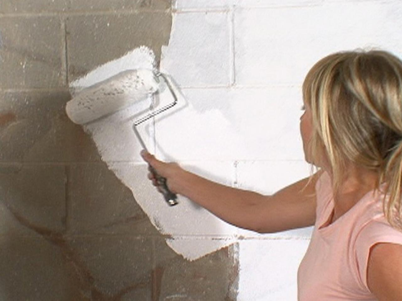 Diy Basement Concrete Wall Paint