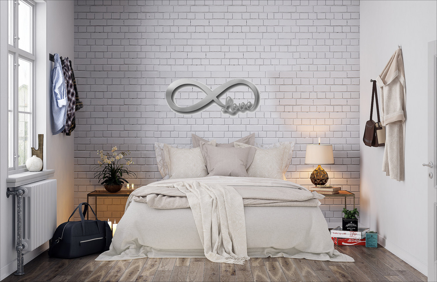 Easy Large Metal Letters For Wall Decor
