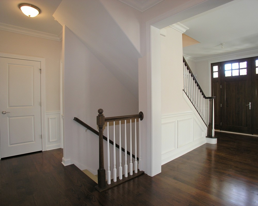 Image of: Elegant Basement Stairs