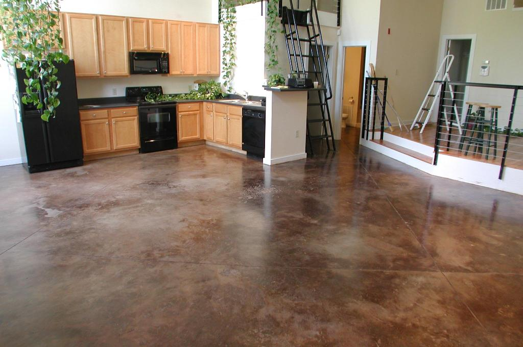 Image of: Epoxy Basement Floor Paint and Stain