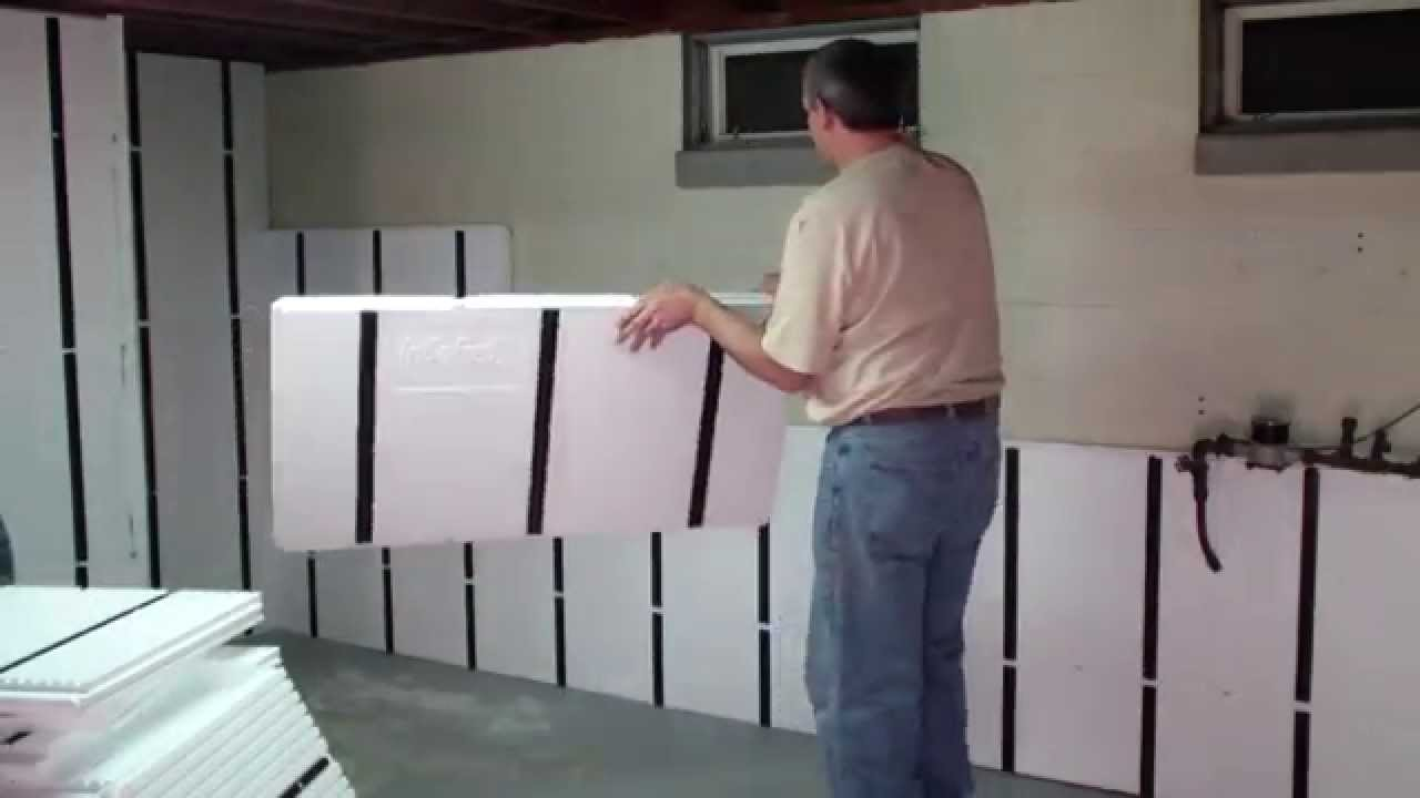Image of: Everlast Basement Wall Panels Diy