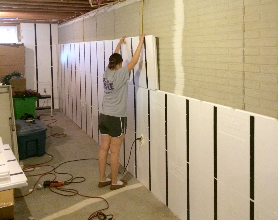 Image of: Everlast Basement Wall Panels