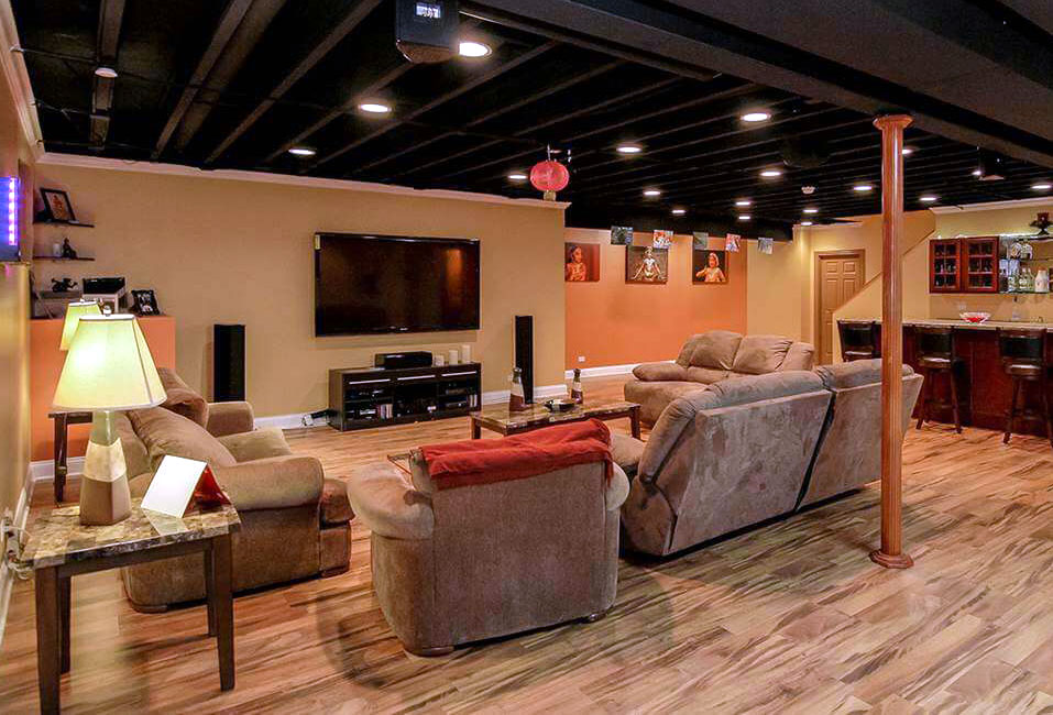Exposed Basement Ceiling Ideas Awesome