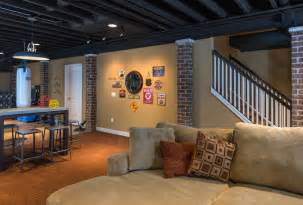 Exposed Basement Ceiling Ideas Image