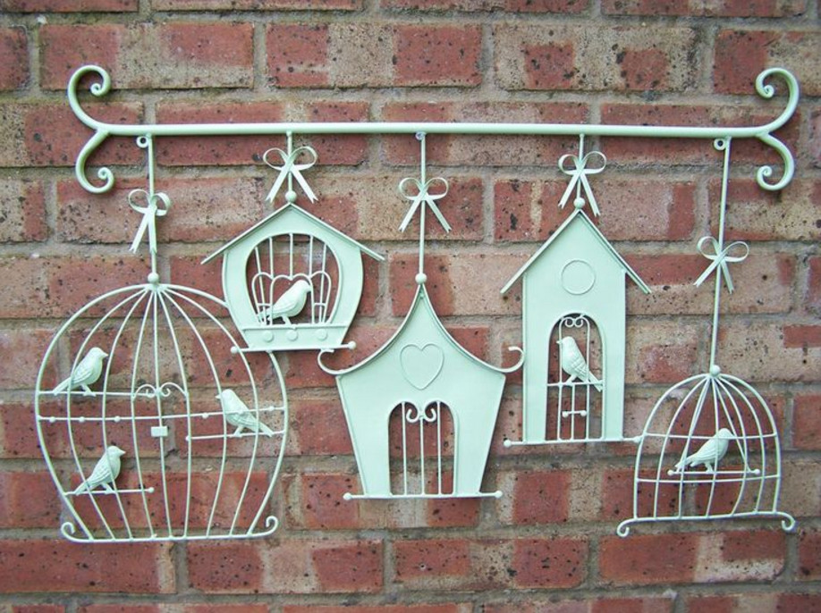 Famous Wrought Iron Outdoor Wall Decor