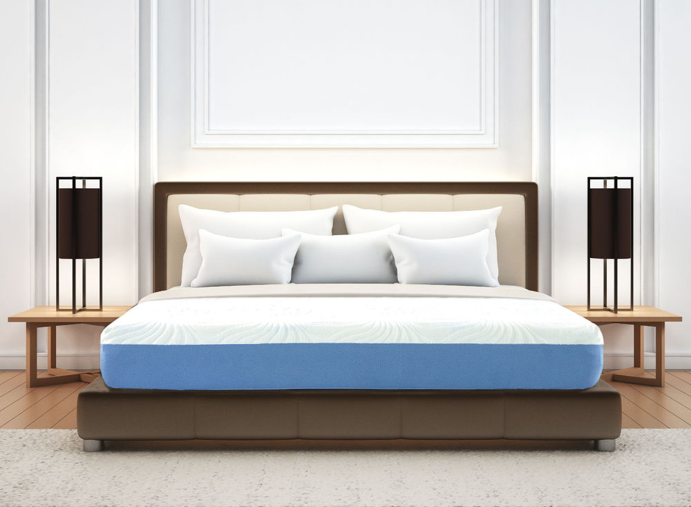 Picture of: Full Size Memory Foam Mattress and Boxspring Set