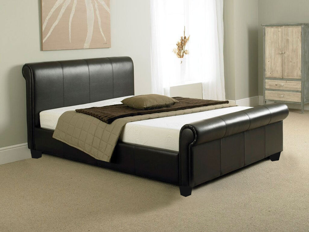 Picture of: Full Size Memory Foam Mattress Foundation