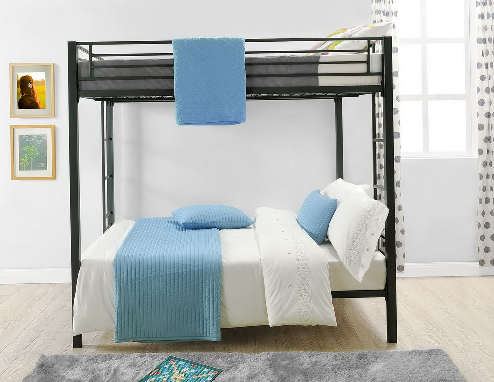 Image of: Futon Bunk Bed with Mattress Included Decor