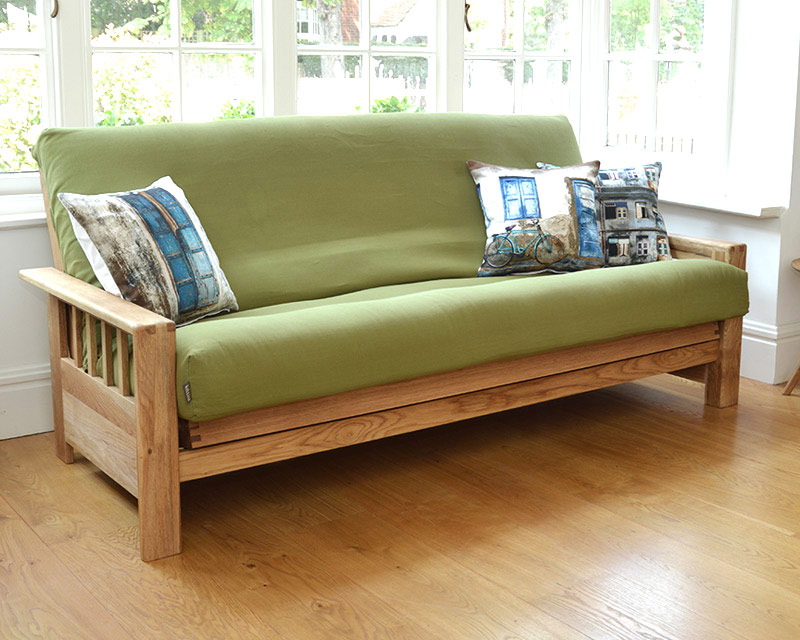 Picture of: Futon Mattress Covers Green