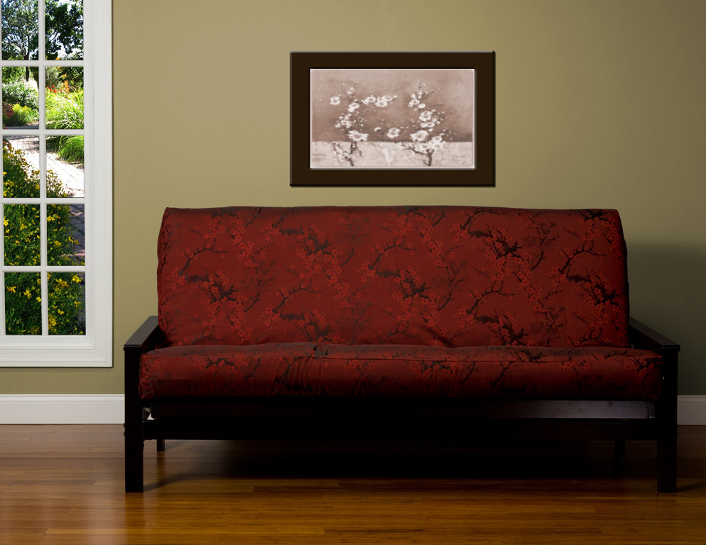 Picture of: Futon Mattress Covers Living Room