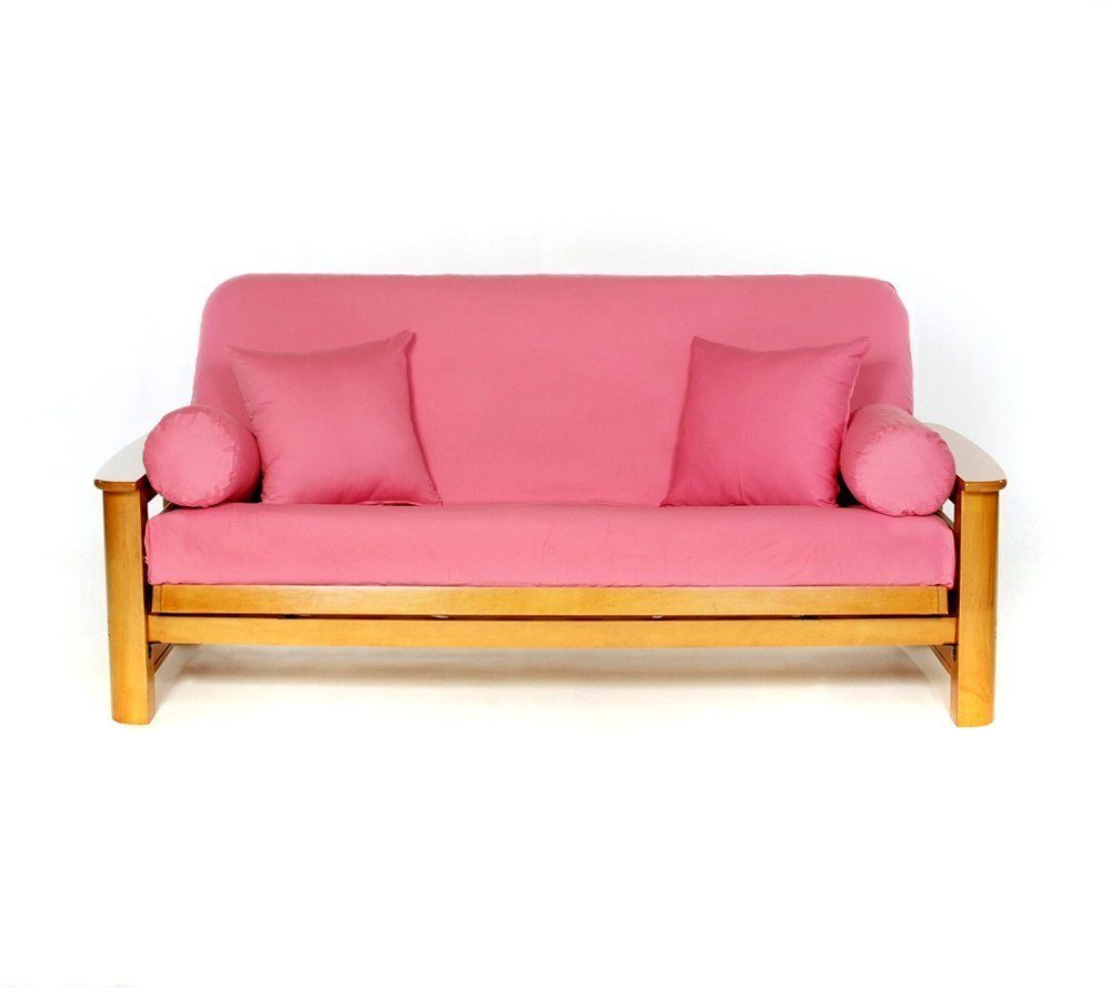 Picture of: Futon Mattress Covers Pink