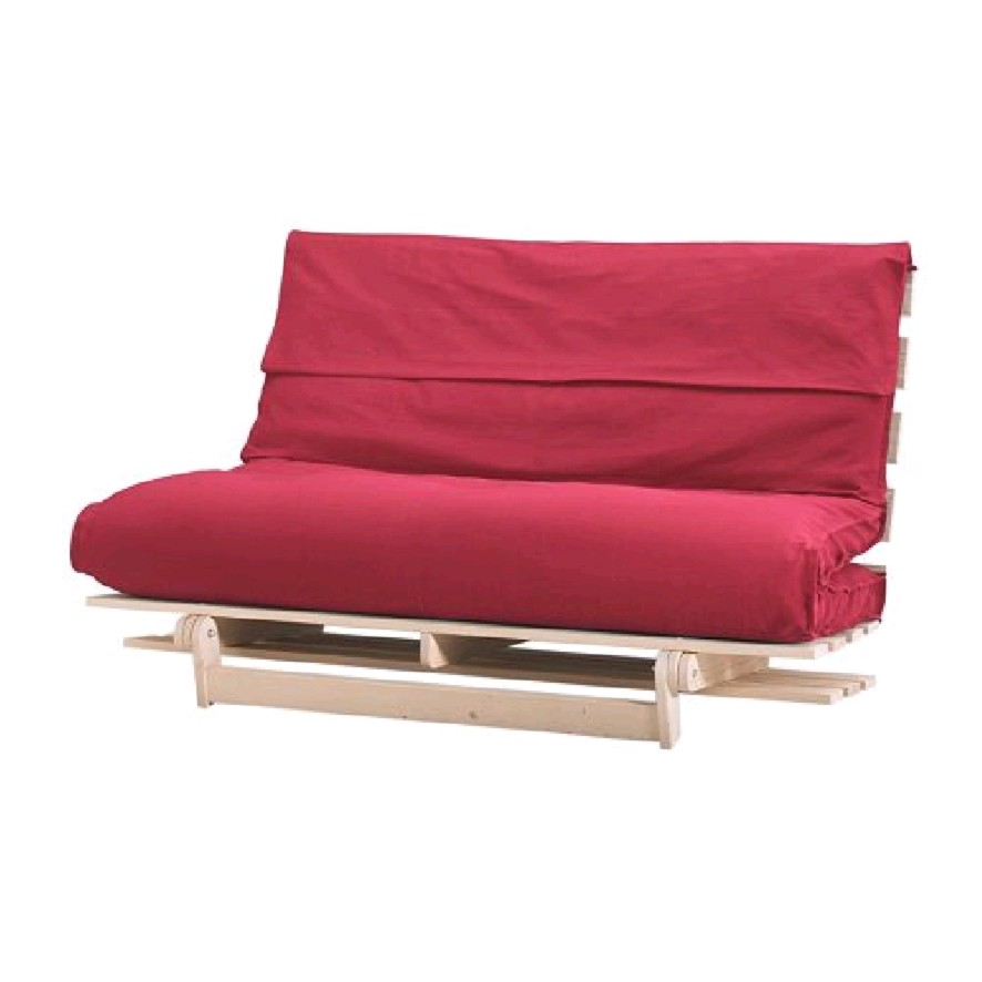 Image of: Futon Mattress Covers Red