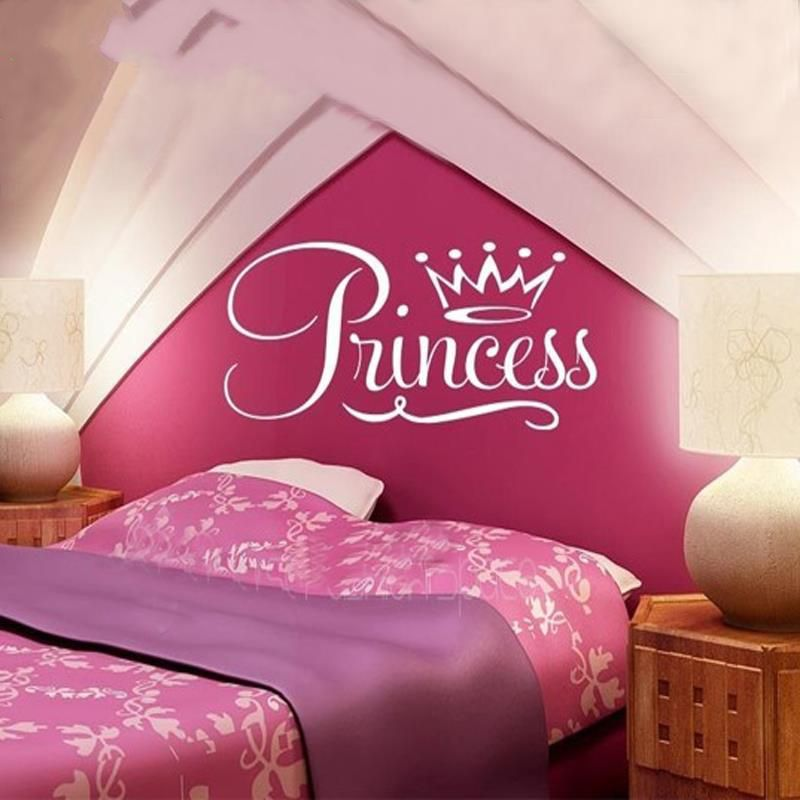 Girly Large Crown Wall Decor
