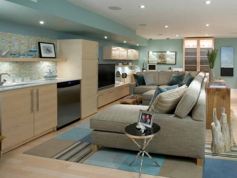 Image of: Good And Best Basement Remodeling Ideas