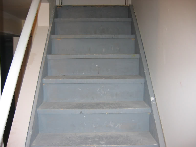 Image of: Good Basement Stairs