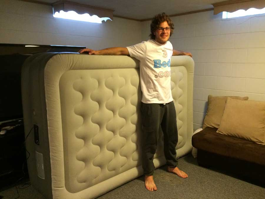 Picture of: Great Full Size Air Mattress