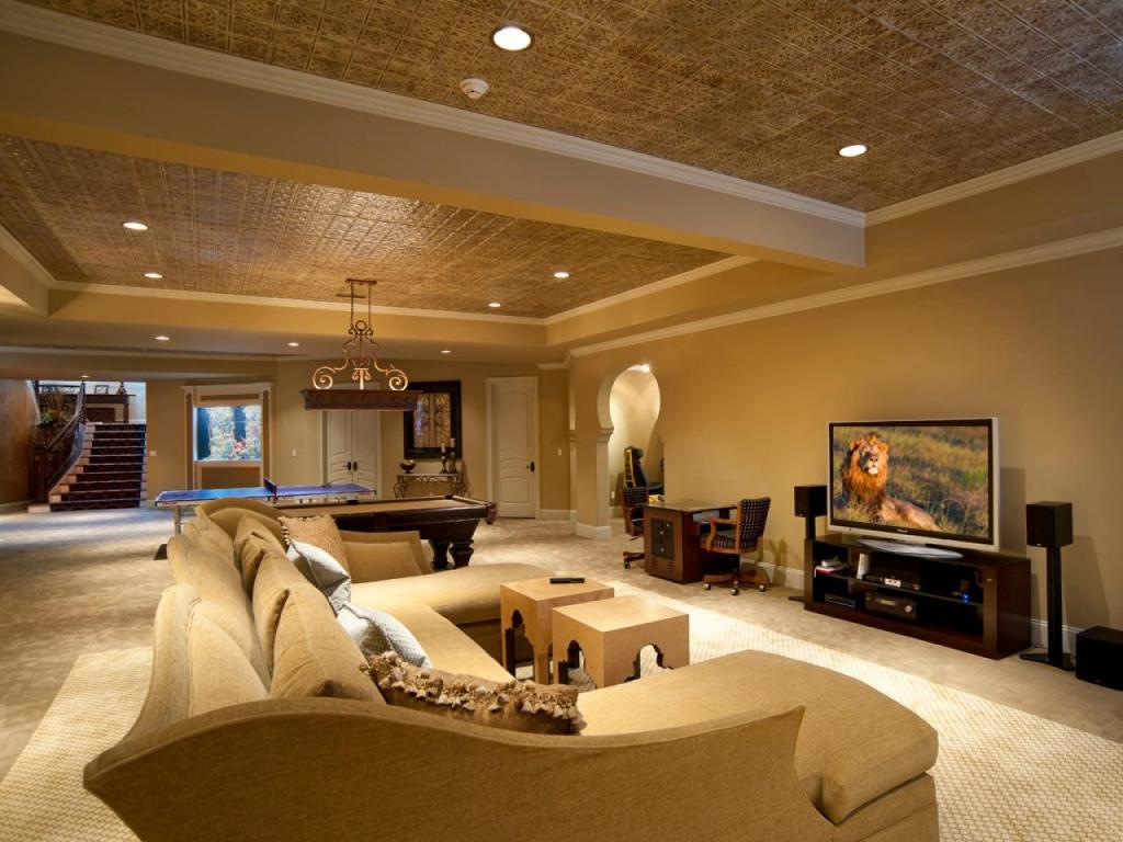 Picture of: How to Remodel a Basement Elegant