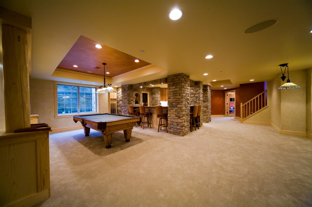 Picture of: How to Remodel a Basement Large