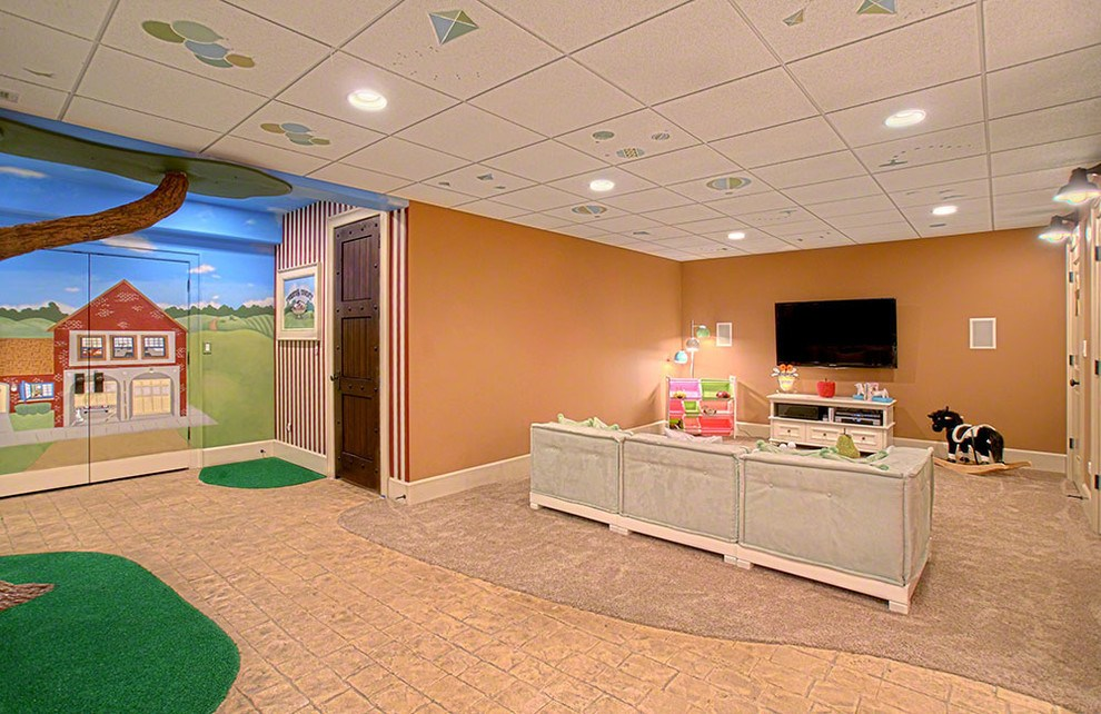 Image of: Ideas for Drop Ceilings in Basements Style