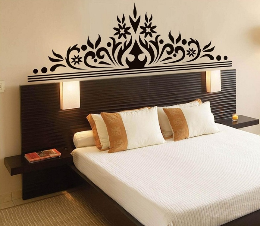 Large Crown Wall Decor For Bedroom