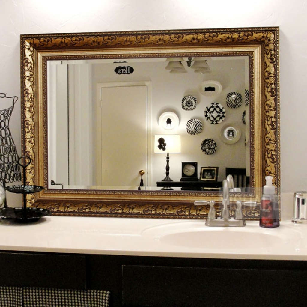 Image of: Large Decorative Wall Mirrors