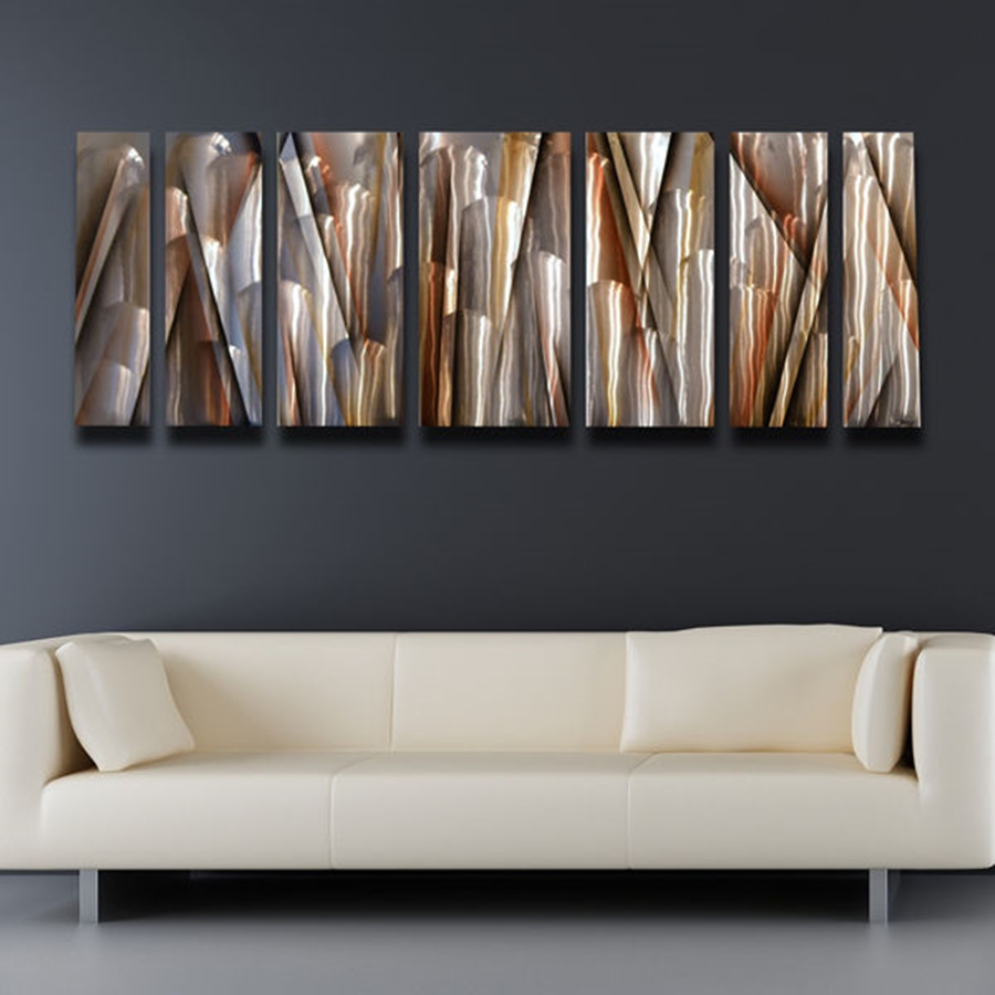 Picture of: Large Modern Rustic Wall Decor