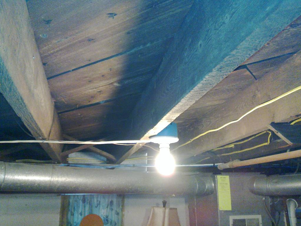 Lighting For Low Ceilings In Basement Access