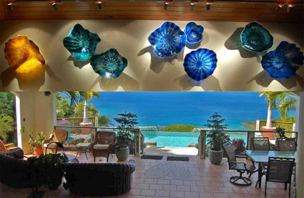 Picture of: Modern Glass Wall Art Decor Canvas