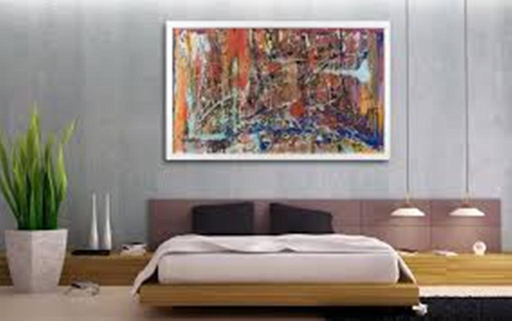 Picture of: Modern Glass Wall Art Decor Stickers