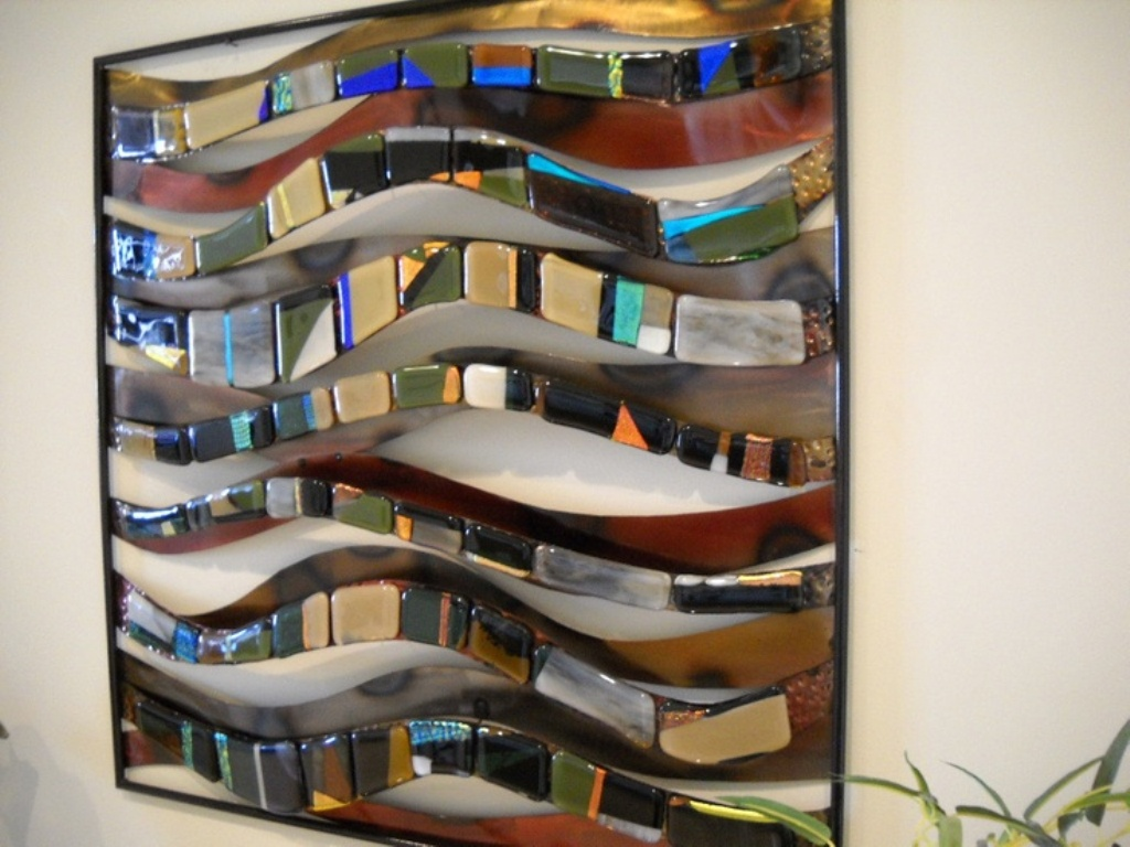 Modern Glass Wall Art Decor Stores