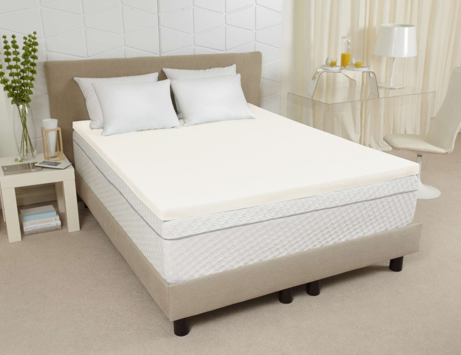 Modern King Size Memory Foam Mattress