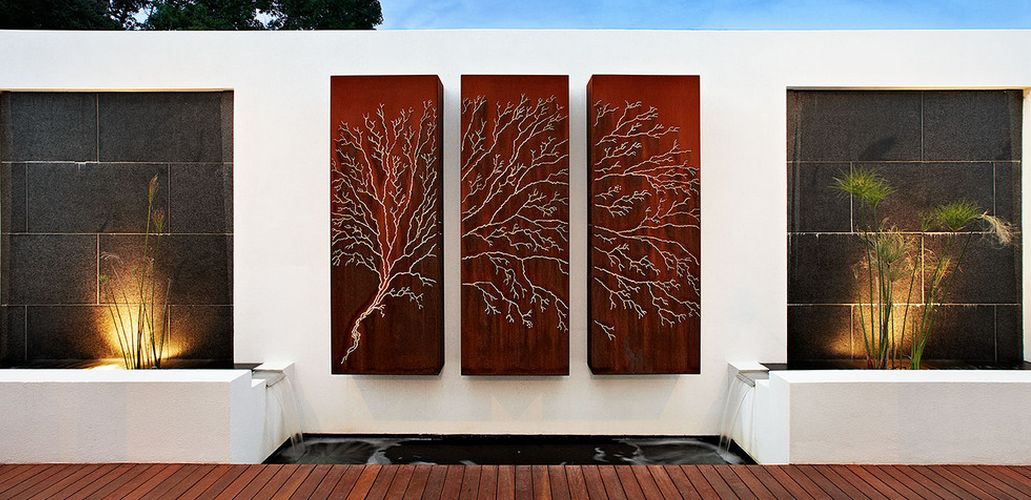Modern Outdoor Wall Decor Diy