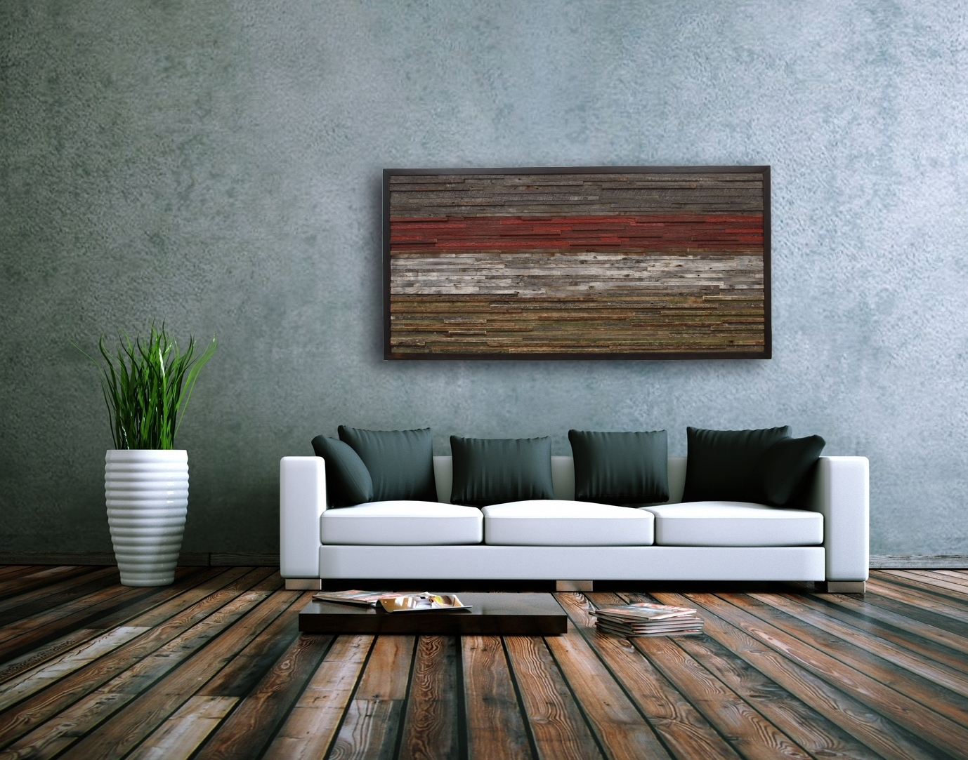 Modern Rustic Wall Decor For Living Room