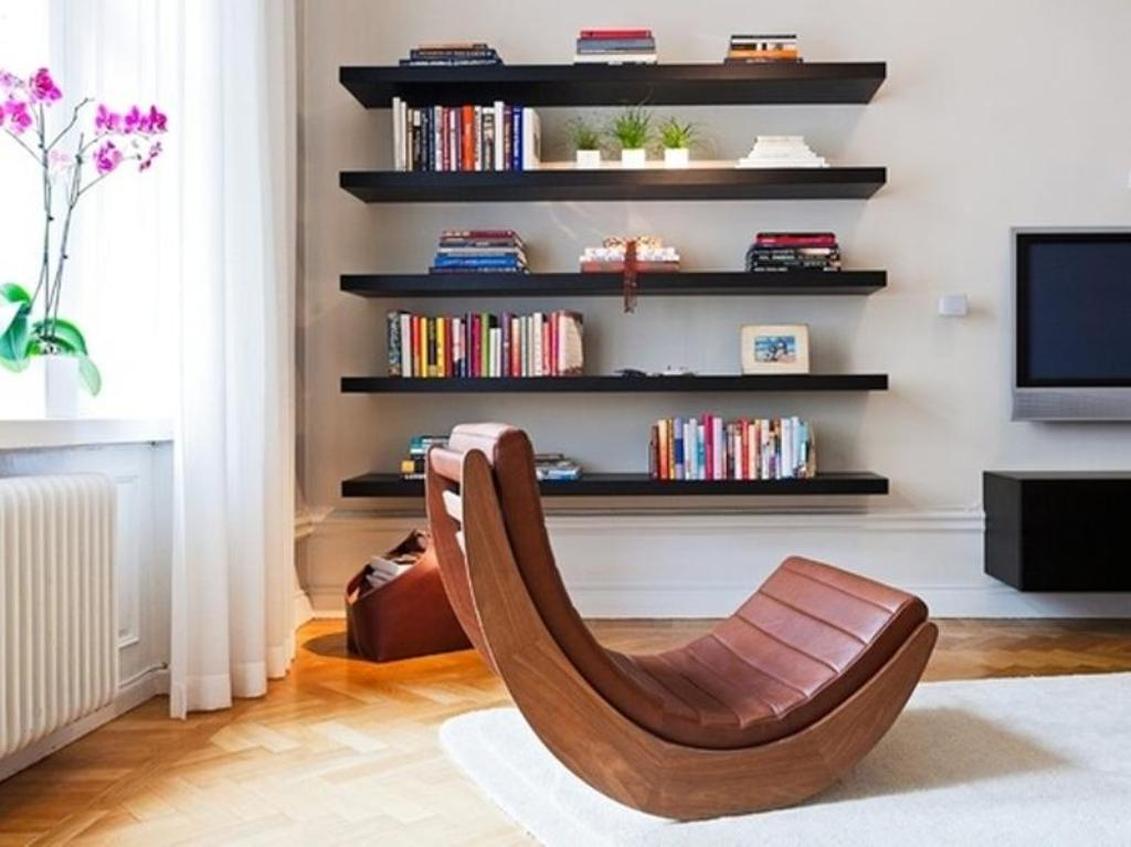 Picture of: Modern Wall Shelves Decorating Ideas Bathrooms