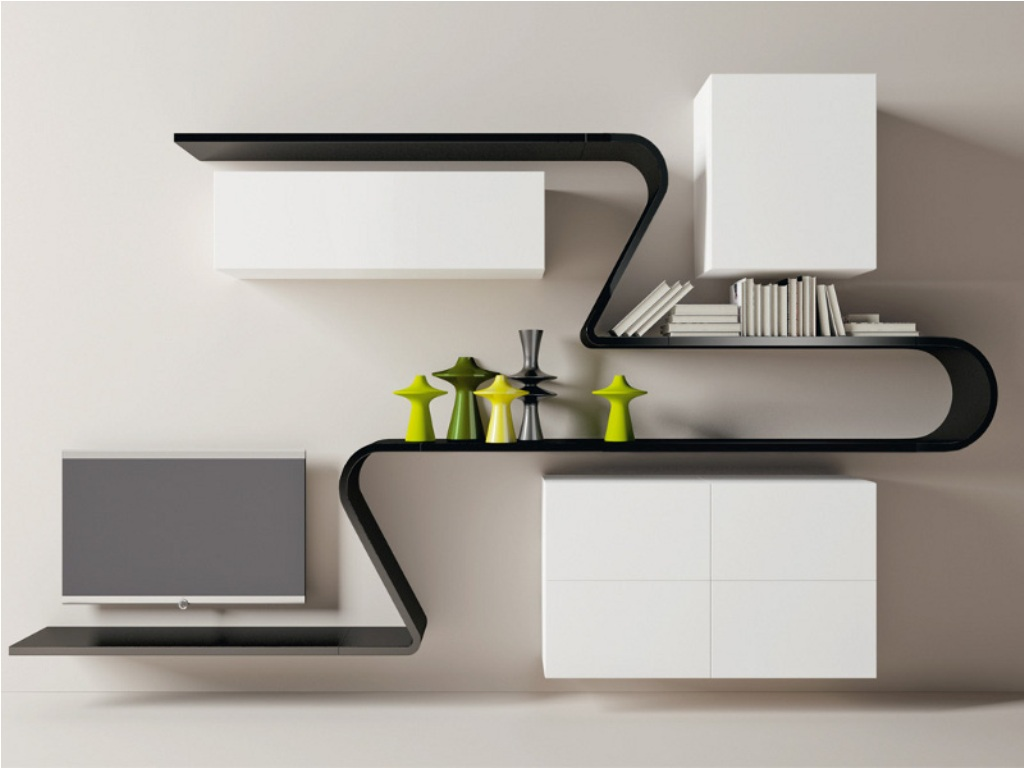 Image of: Modern Wall Shelves Decorating Ideas Blogs